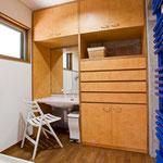 1階 洗面・脱衣室(RC棟)