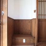 玄関(創り付けベンチ)