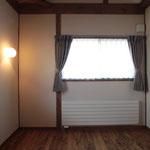 予備室(東側窓を見る。)