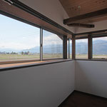 2階サンル-ム(南西景色を見る。)