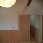 2階 主寝室(入口側を見る。)