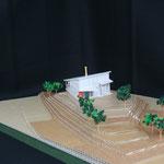 敷地模型(アプロ-チの検討)