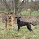 Lena und Pepper