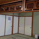 Typical Japanese room on the 1st floor