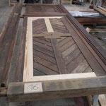 Fausse porte piétonne restaurée