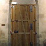 Porte lambrissée - Eglise de Gonesse