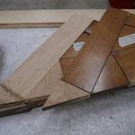 Réassemblage de spanneaux