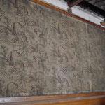 Tenture murale ancienne en protection arrière