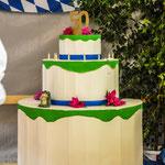 Unsere große Geburtstagstorte zum 50-jährigen Bestehen des Vereins