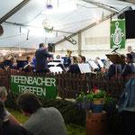 Auch unsere Musikfreunde aus Tiefenbach Östringen ...