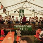 Am Sonntag nach dem Gottesdienst gab es auch tolle Unterhaltungsmusik zur Mittagszeit durch die drei Tiefenbacher Vereine.