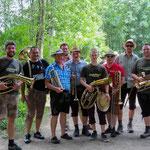 Gruppenfoto der Tiefenbacher Teilnehmer