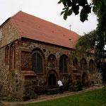 die älteste, auf der Insel Usedom dokumentierte Kirche - ohne Turm - von 1261