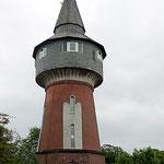 historischer Wasserturm von 1902