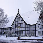 Haus Kleinhans im Schnee