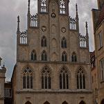 Das Historische Rathaus - Hier wurde am 15.05.1648 der Westfälische Frieden geschlossen