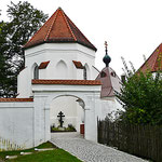 Seeon - Friedhofseingang
