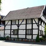 ein Fachwerkhaus in Warendorf