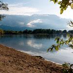 Blick übern See