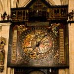 Die Astronomische Uhr; die Erstellung geht auf das Jahr 1540-42 zurück
