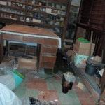 作業前の本館地下配膳室