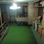 空間が生まれた本館地下居間