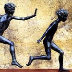 La Poursuite, Bronze, Palazzo comunale, Soave, It