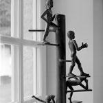La tribu, bronze, 60 cm, Belgique