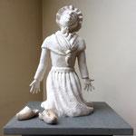 Louise, en bronze sur commande, 30 cm, Belgique