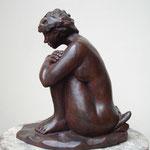 Le Coussin, bronze, 27 cm, disponible, Belgique