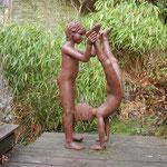 Le poirier, bronze, grandeur nature, Belgique
