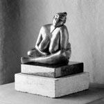 Sérénité, bronze, 18 cm, Québec.     photo : Luc Stokart