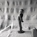 Irreductible, bronze, 25 cm, disponible, Belgique.     photo : Luc Stokart