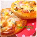 「miniピザ」 6個 ¥3000