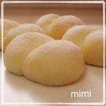 「練乳クリームパン」 ふわっとした甘みとこくのあるパンに練乳クリームを包みました。練乳クリームも作ります 6個 ¥3000