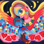 三日月の天使