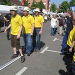 Michael, Andreas und Harald, die 2. Mannschaft