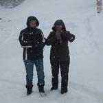Die zwei Schneefrauen Diana & Petra