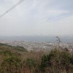 琵琶湖が一望できます