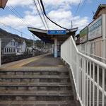 京阪電車滋賀里駅を出発。