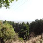 振り返ると琵琶湖が望めます。