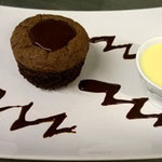 Muffin choco-litchi
