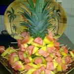 Piques de fruits