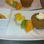 Trio de desserts
