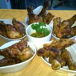Plateau dégustation poulet boucané
