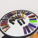 Grand choix de matériaux et colories