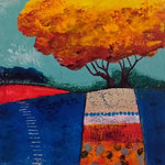 Lemon tree, acrylique sur bois 25cm*25cm  - non disponible