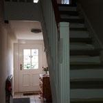 Die neue Treppe von unten