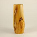 Vase: Birke, 22 x 9,5 cm, naturbelassen, Versiegelung mit Klarlack