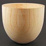 Hollow form - Esche (Grünholz) - unstrukturiert und unbehandelt